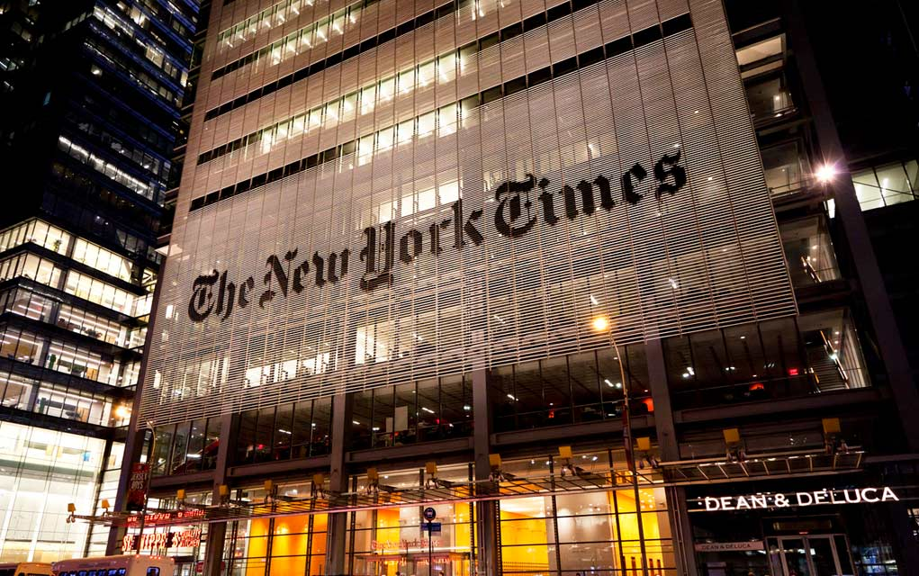 Former NYT Editor Comes Clean on the Money Behind Trump Bias