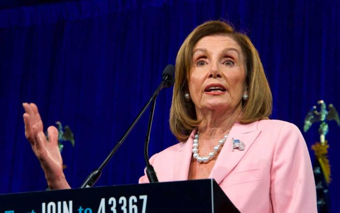 "Pelosi Questioned On Democrats' ""Double Standard"""