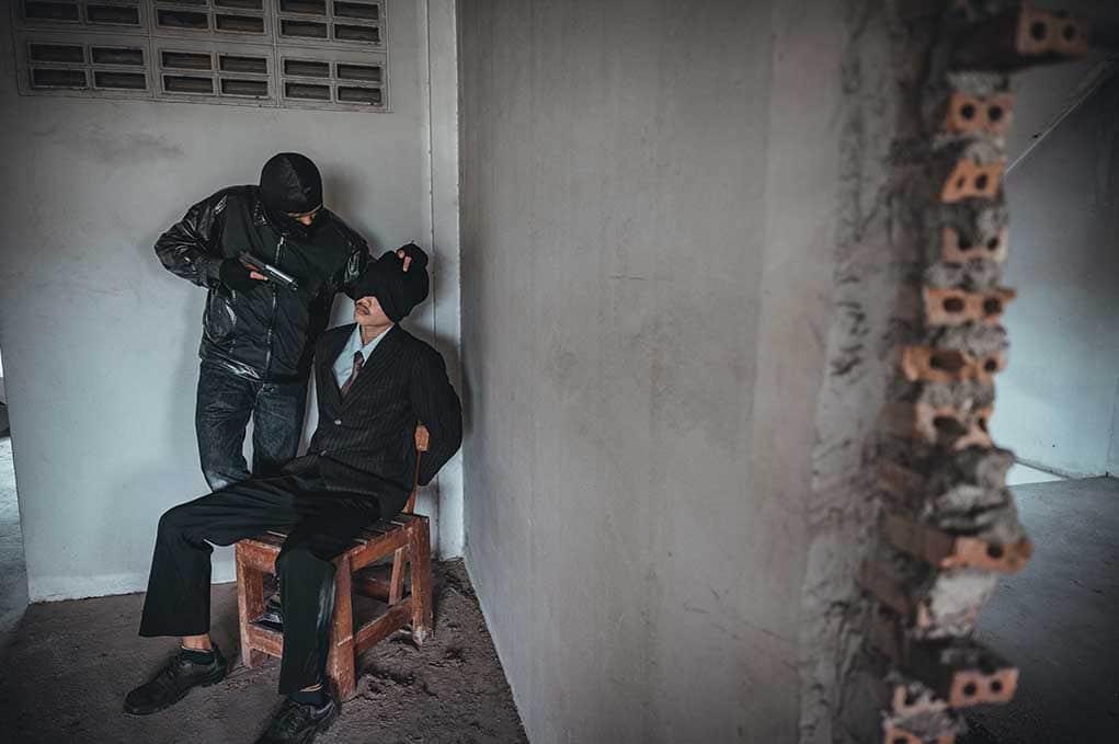 Hostages Taken in Series of Bank Raids