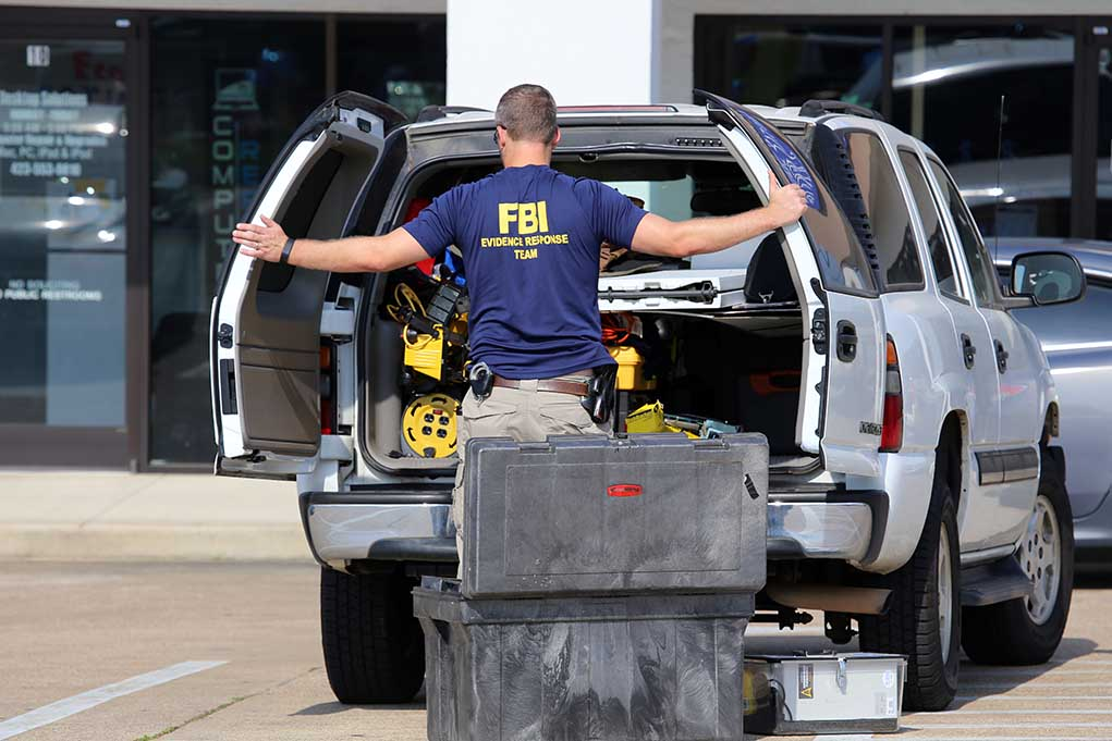 FBI Agents Collect DNA From Brian Laundrie's House