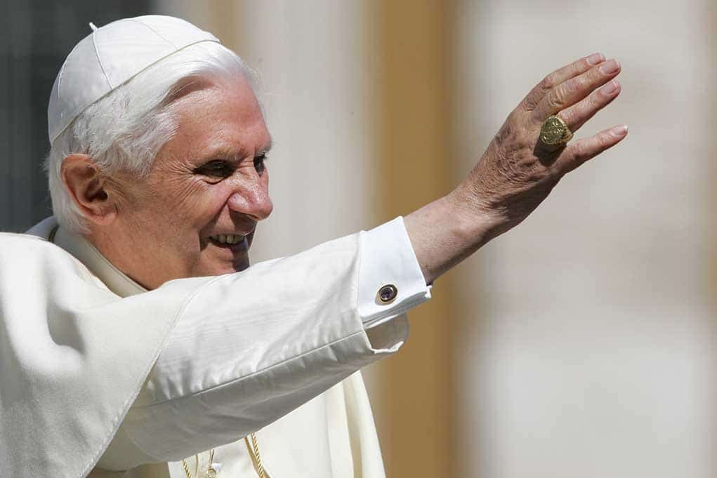 Retired Pope Says He's Ready to Meet His Friends in the Afterlife